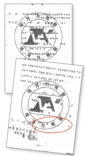 <div align=right><font color=blue></font></div>삼일절 기념미사 사건의 법원 판결문. 김대중 전 대통령이 징역 8년을 선고받았다.