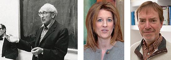 애바 러너 교수(왼쪽)는 현대통화이론 학파의 선조 격이다. 스테파니 켈튼 교수(가운데)와 랜달 레이 교수(오른쪽)는 현대통화이론 학파의 핵심이다.