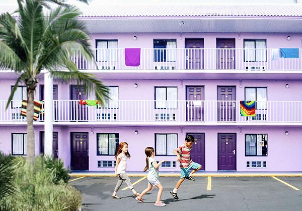 가난을 과장하지도 미화하지도 않는 '플로리다 프로젝트'