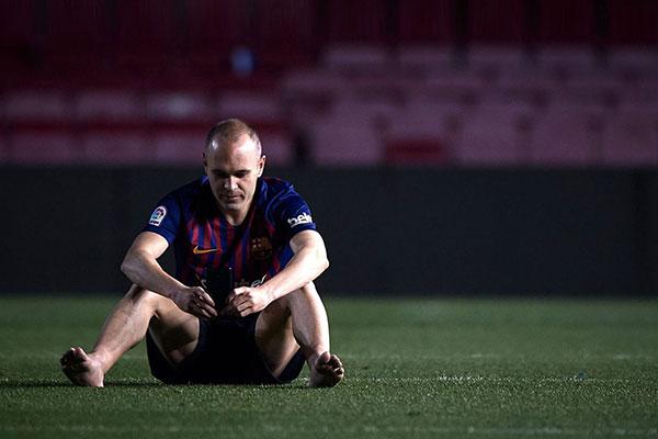바르셀로나 떠나는 그라운드의 '마술사'