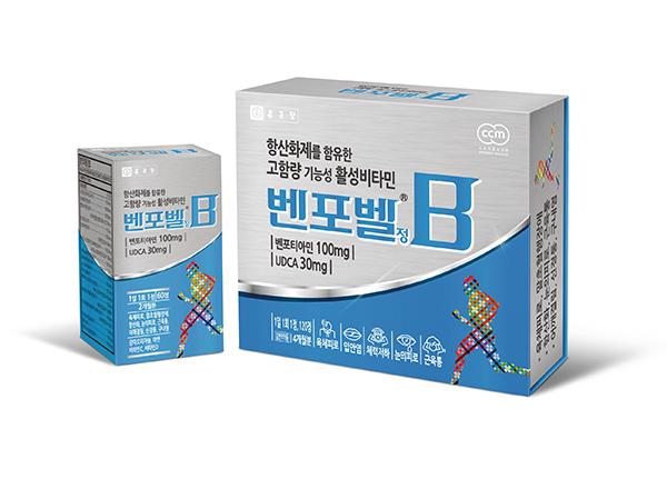 종근당, 고함량 기능성 활성비타민 '벤포벨'