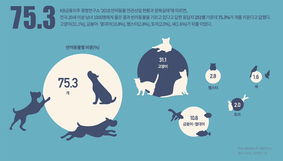 이 주의 그래픽 뉴스 - 반려동물