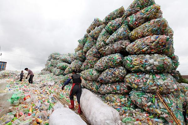 중국, 플라스틱 쓰레기는 이제 그만