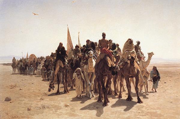 '와타니야'에서 답을 찾는 중동 사람들