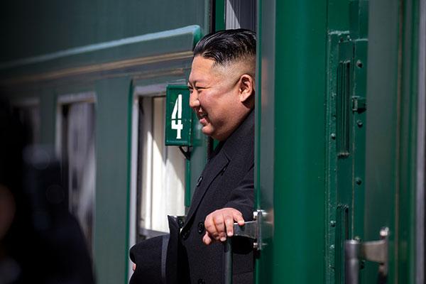 김정은 재촉한 '호르무즈 해협의 긴장'