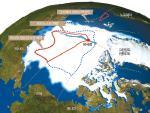 북극 얼음 녹으니 영토 분쟁 뜨겁네