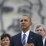쿠바가 내민 흰 장미 오바마가 받았다
