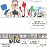본격 시사인 만화 - 철혈협치