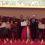 국제 청소년 산림대회'에서 한국대표 첫 우승