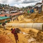 세계 최대 난민촌의 폭우