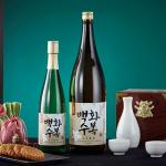 100% 우리쌀로 만든 대한한국 대표 차례주 롯데주류 '백화수복'