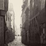 1858년 파리의 뒷골목을 기록한 사진가