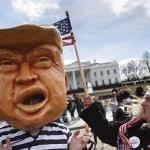 지지율 비상사태  '트럼프 산성'으로 돌파