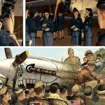 여성 파일럿과 핀업 걸의 전쟁과 우정