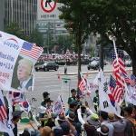 """트럼프를 향한 외침 """"박근혜를 풀어달라"""""""